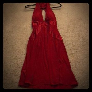 Dresses & Skirts - Sexy open back red dress!